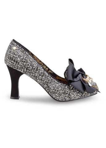 Joe Browns Couture Regal Tweed 40's Pumps Black