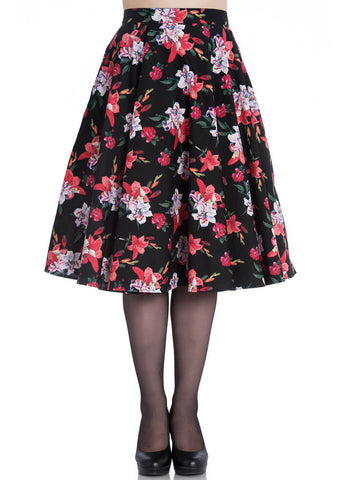 Hell Bunny Liliana 50's Swing Skirt