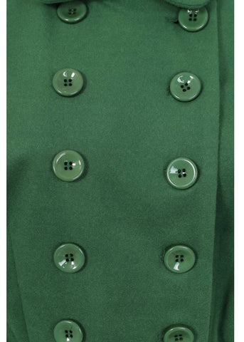 Collectif Addy 50's Coat Green