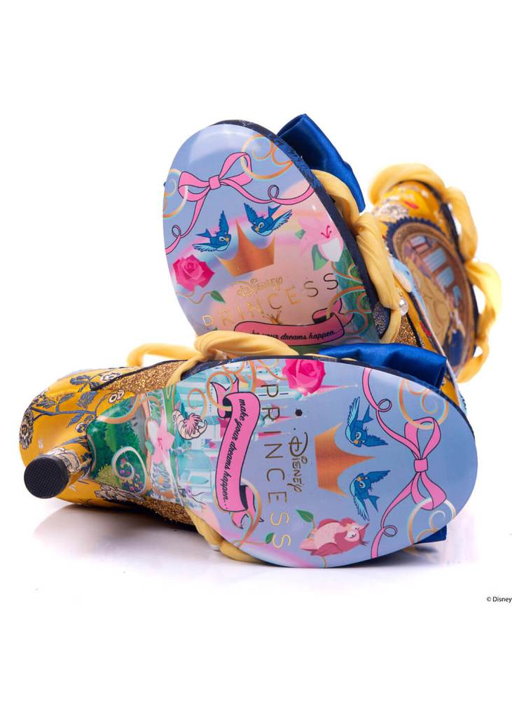 A Tale Of Enchantment Irregular Choice Boots Beauty and the Beast /& Disney
