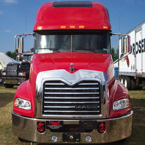 Mack Bug Deflectors & Grill Surrounds