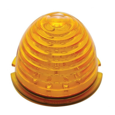 17 LED Beehive Cab Light - Amber LED/Amber Lens Lighting & Accessories