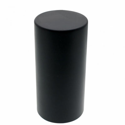 33mm x 4 1/4 Black Tall Cylinder Nut Cover - Thread-On Nut Covers