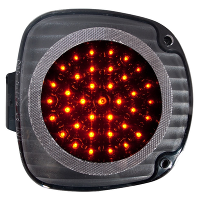 Century Led Side Turn Light (Amber Leds / Clear Lens / Black Reflector) - Lighting & Accessories