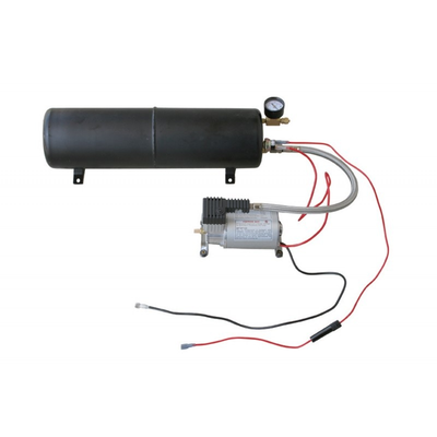 Heavy Duty Air Compressor And Tank Kit - Air/electrical