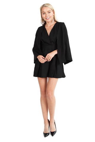 Super Woman Cape Romper