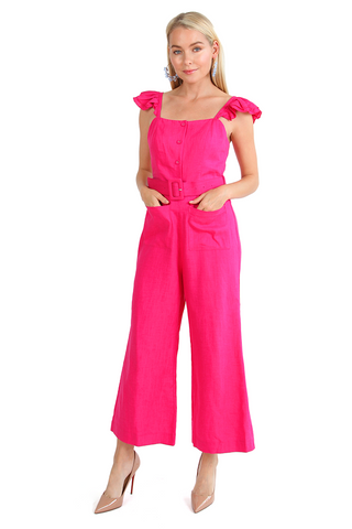 Rosé All Day Jumpsuit