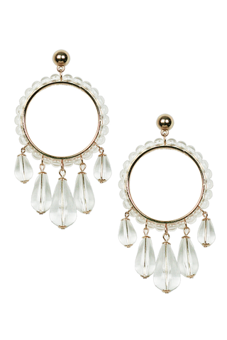 Translucent Drop Earrings