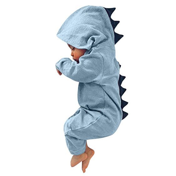 Baby Dinosaur Hooded