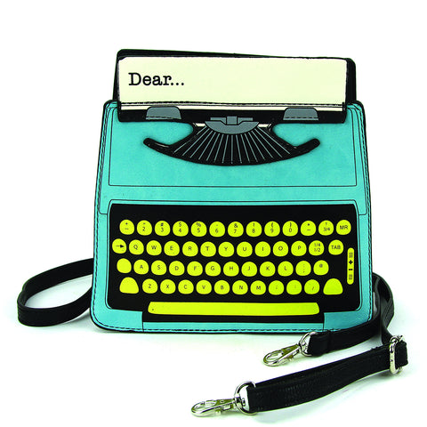 Vintage Typewriter Crossbody Bag