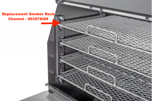The Good-One Marshall Replacement Smoker Rack Channel, Generation III