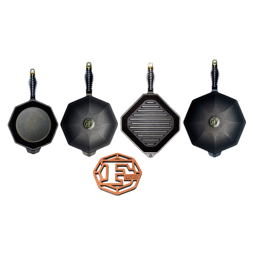 Finex 7-Piece Set - Premier Grilling