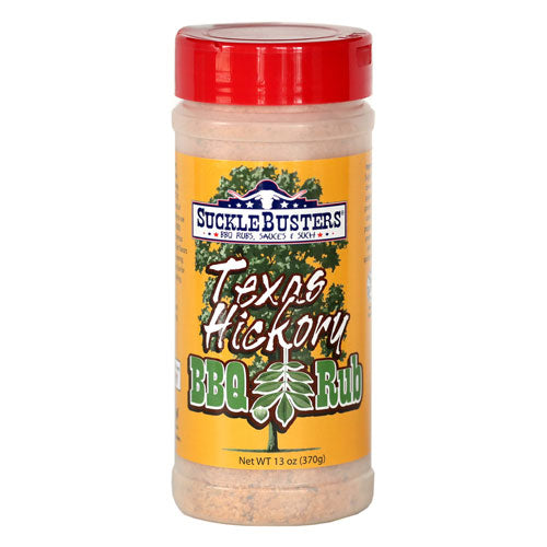 Sucklebusters Texas Hickory BBQ Rub - Premier Grilling