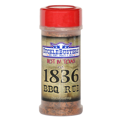 Sucklebusters 1836 BBQ Rub - Premier Grilling