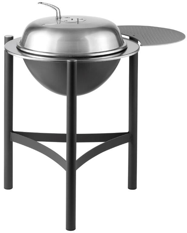 Saber Dancook 1900 Charcoal Grill Aluminum Side Table - Premier Grilling