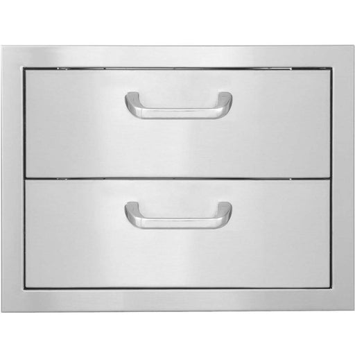 "PCM 260 Series 17"" x 12.5"" Double Drawers - Premier Grilling"
