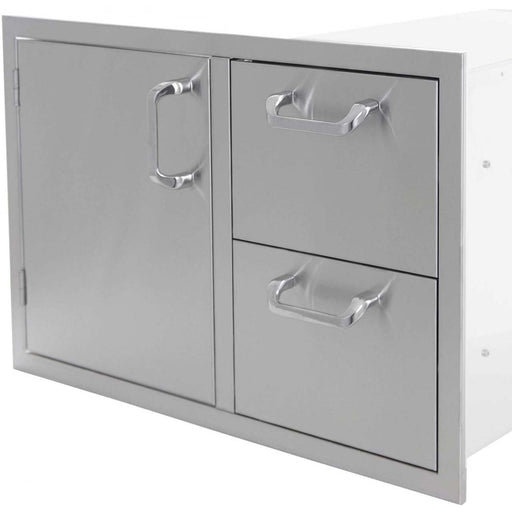 PCM 260 Series Door/2-Drawer Combo Unit