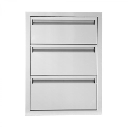 "PCM 350 Series 17"" x 24"" Triple Drawers - Premier Grilling"