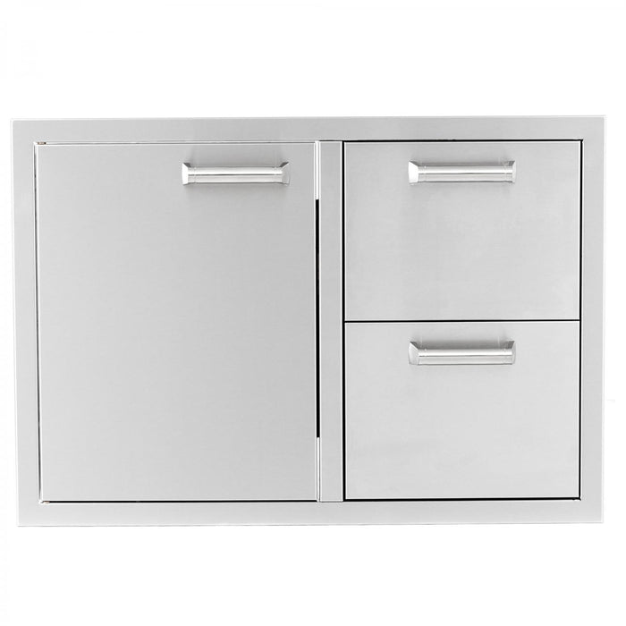 PCM 350H Series Door/2-Drawer Combo Unit - Premier Grilling