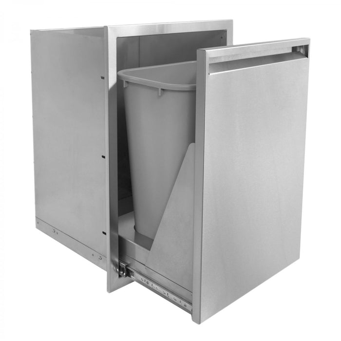 "PCM 350 Series 17"" x  24"" Trash Roll-Out"