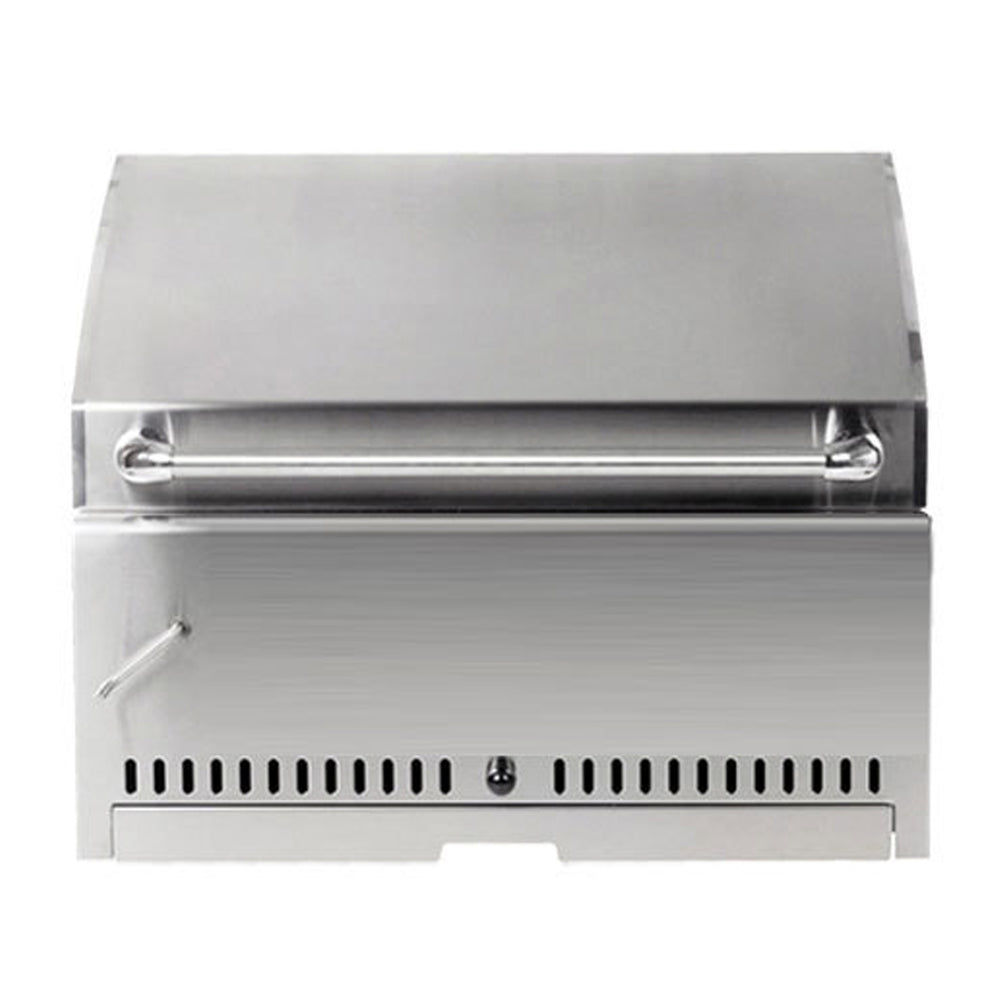 "PCM 30"" Built-In Charocal Grill - Premier Grilling"