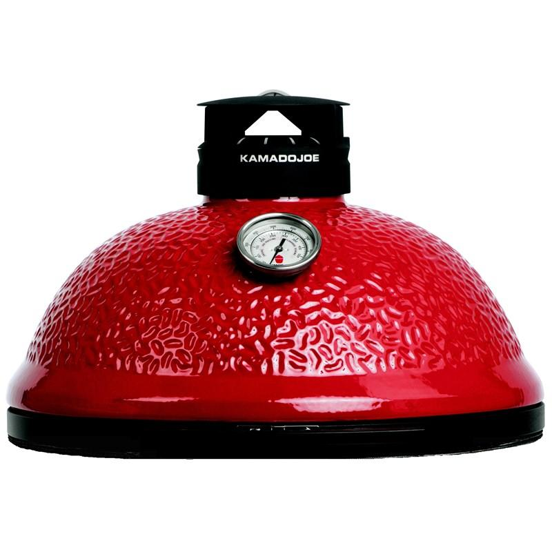 Red Classic Kamado Joe Ceramic Dome - Premier Grilling