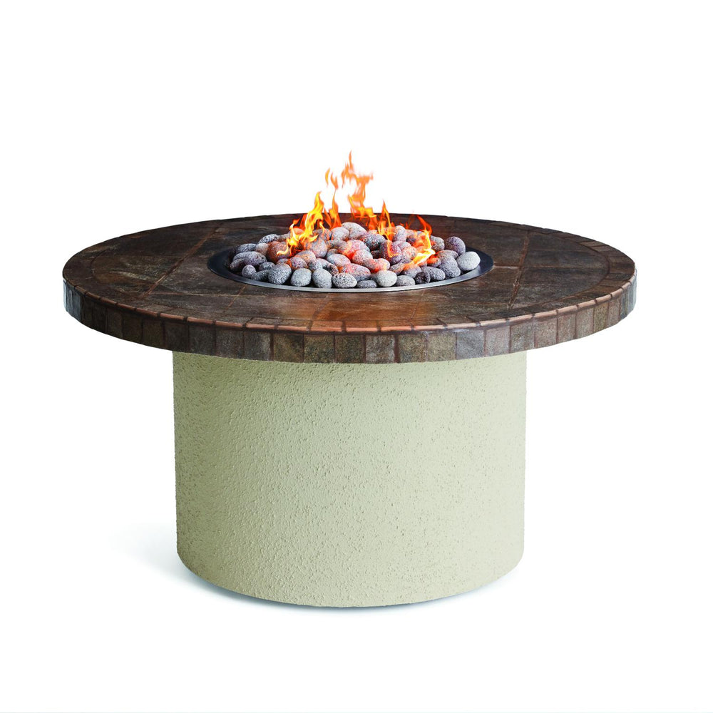 Sedona Contemporary Brown/Gray Circular Firepit - Premier Grilling