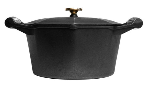 Finex 5 qt Cast Iron Dutch Oven - Premier Grilling