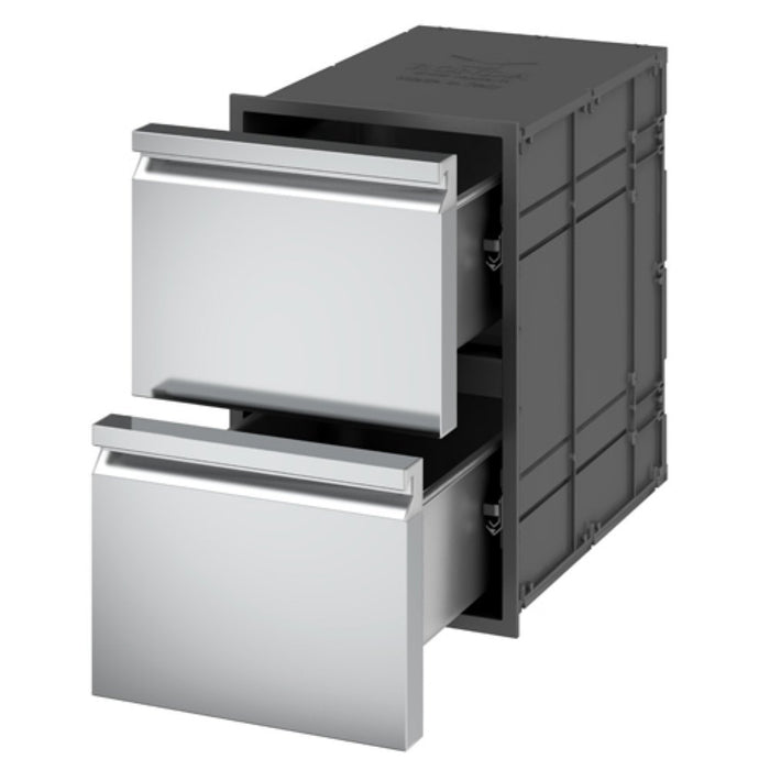 Ronda Insulated Double Drawers - Premier Grilling