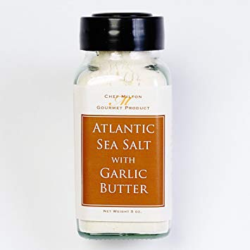 Milton's Gourmet Atlantic Sea Salt w/ Garlic Butter