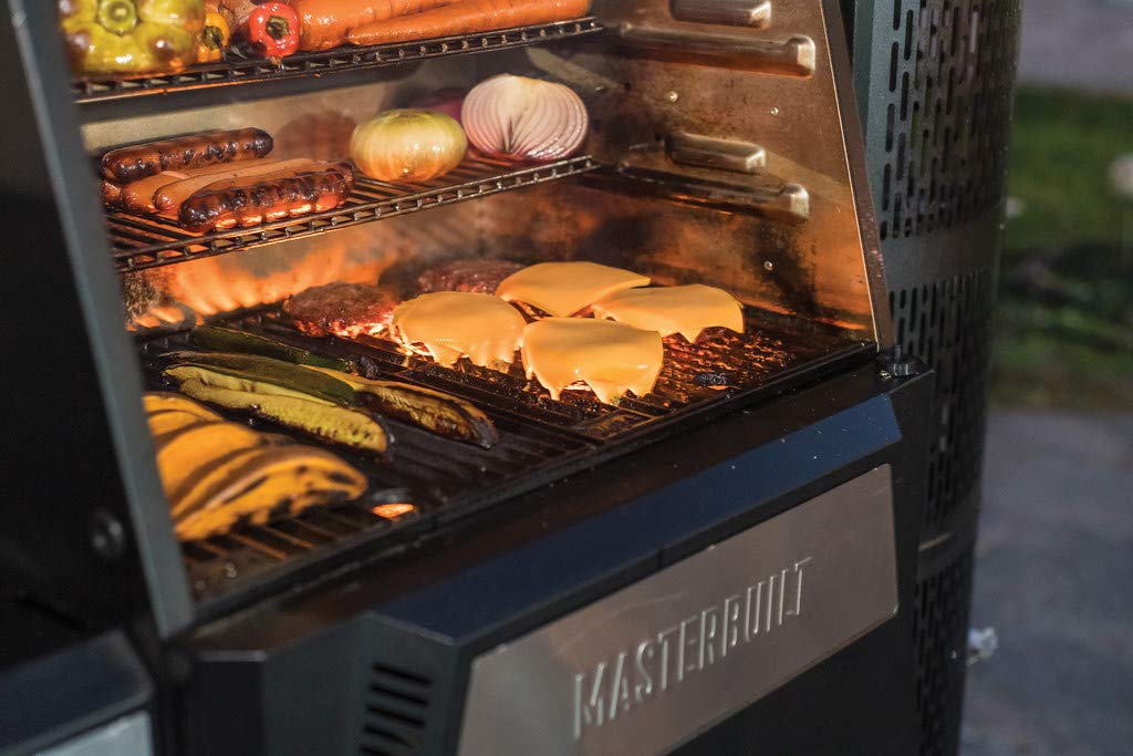 "Masterbuilt 24"" Gravity Series Digital Charcoal Grill and Smoker"