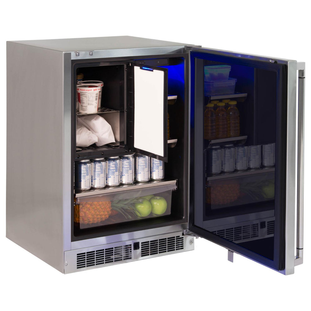 "Lynx 24"" Refrigerator/Freezer Combo - Premier Grilling"