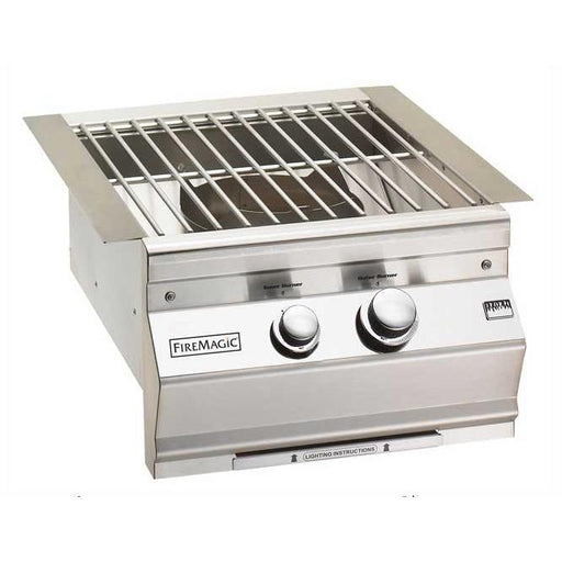 Fire Magic Cast Brass Burner & Stainless Steel Grid - Premier Grilling
