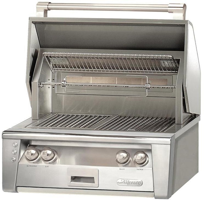 "Alfresco 30"" Sear Zone Built-In Gas Grill - Premier Grilling"
