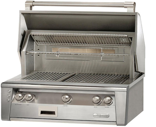 "Alfresco 36"" Sear Zone Built-In Gas Grill - Premier Grilling"