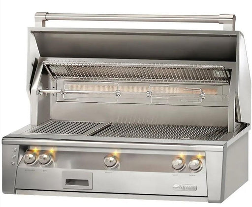 "Alfresco 42"" Sear Zone Built-In Gas Grill - Premier Grilling"