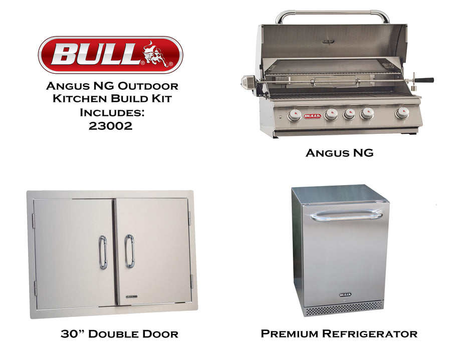 Bull Outdoor Holiday Kitchen Build Kit, LP/NG