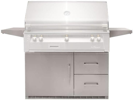 "Alfresco Refrigerator (Mounted on 42"" BBQ Cart)"