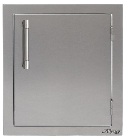 "Alfresco 17"" Single Access Left Door - Premier Grilling"