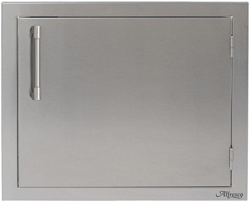 "Alfresco 23"" Single Access Left Door - Premier Grilling"