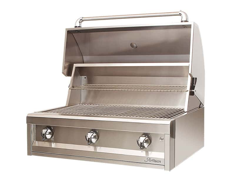 Artisan 36 inch 3-Burner Gas Grill - No Rotisserie - Premier Grilling