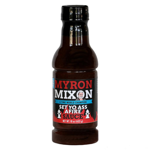 Myron Set Yo Ass on Fire Sauce 16oz. - Premier Grilling