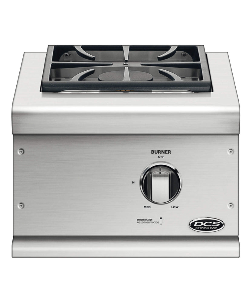 DCS Single Built-In Side Burner - Premier Grilling