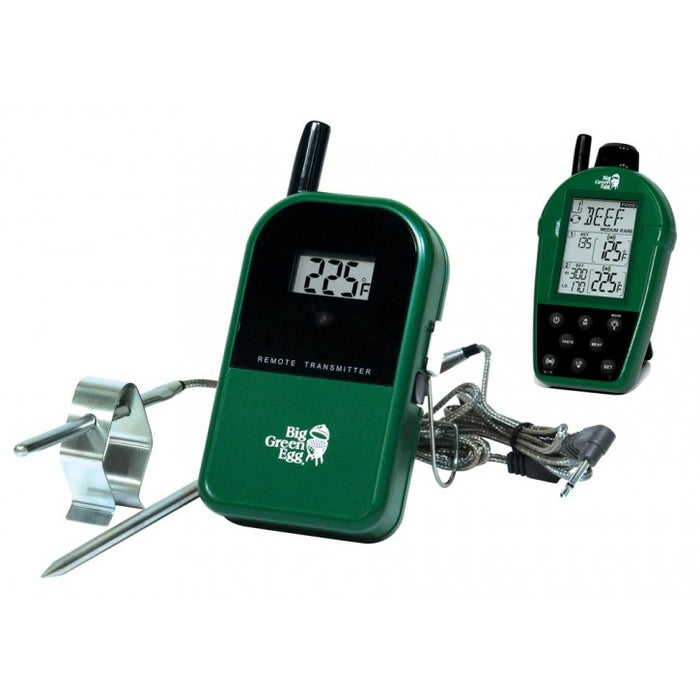 Big Green Egg Egg-Shaped Dual Probe Wireless Remote Thermometer