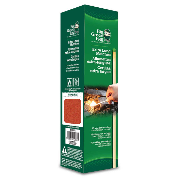 Big Green Egg Matches, Extra Long, 75/Package