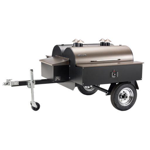 Traeger Double Commercial Trailer Grill