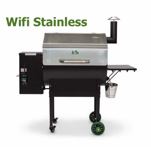 Green Mountain Grills Daniel Boone Choice Pellet Smoker/Grill w/ WiFi, Stainless Steel