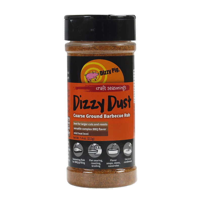 Dizzy Pig Dizzy Dust Coarse BBQ Rub