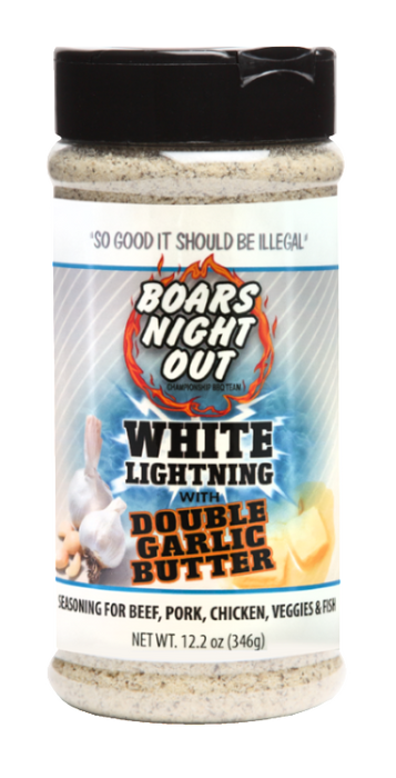 Boars Night Out White Lightning Double Garlic Butter
