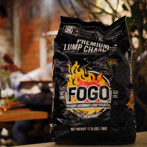 Fogo 17.6-lb Bag of Lump Charcoal - Premier Grilling